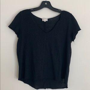 PST Black Short Sleeve Top